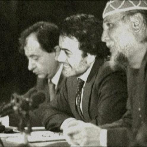Con Moni Ovadia e Pierre Bazieh